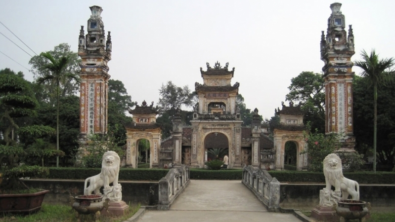 Image result for triệu thị trinh temple
